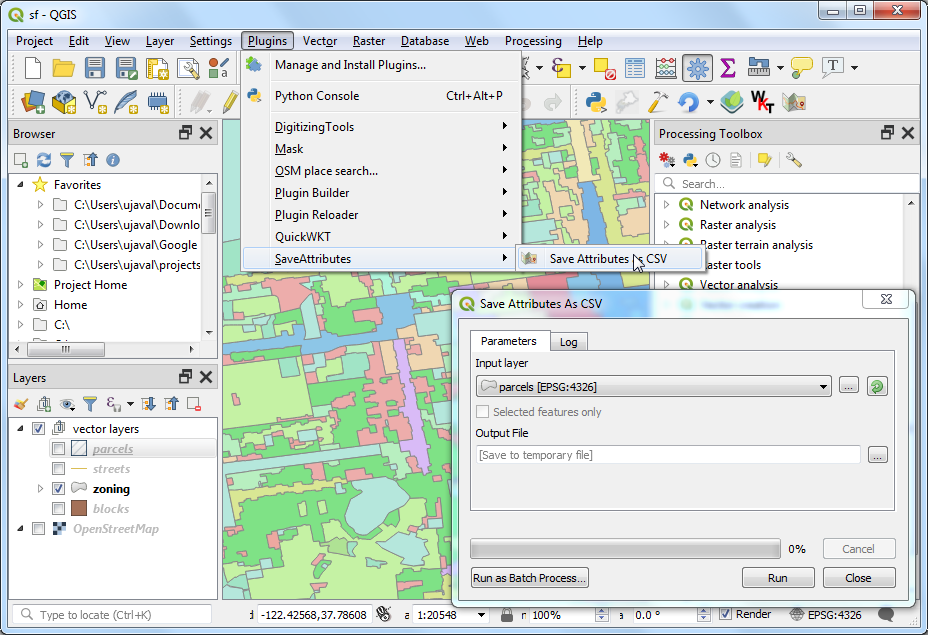 Customizing QGIS with Python (Course Material)